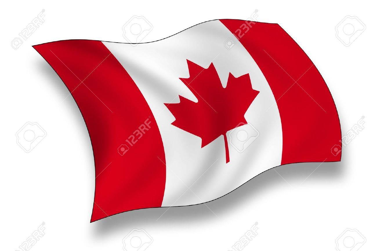 Flag Of Canada Fotos, Retratos, Imágenes Y Fotografía De Archivo ...