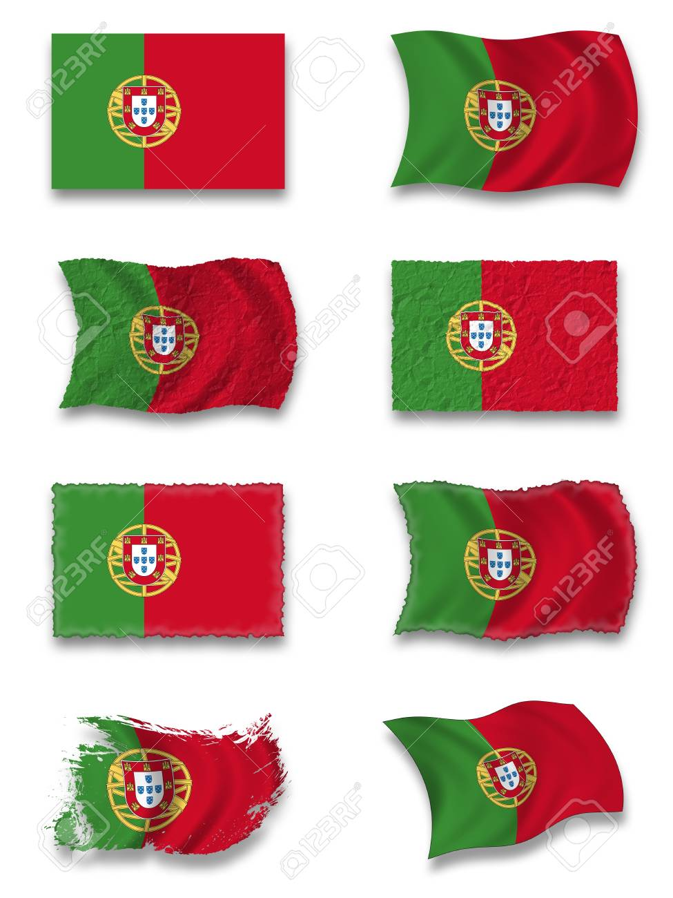 Flag of Portugal Stock Photo - 8649979