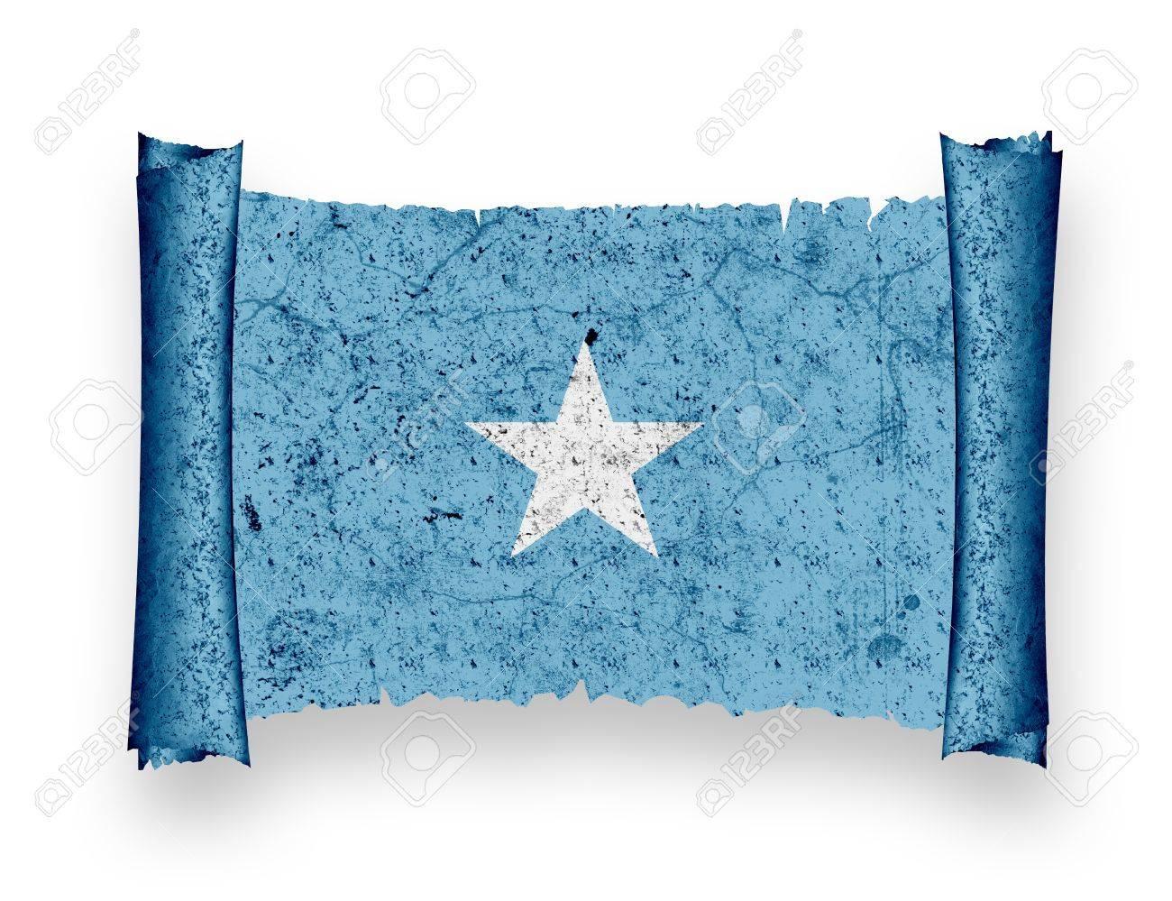 Flag of Somalia Stock Photo - 8895726