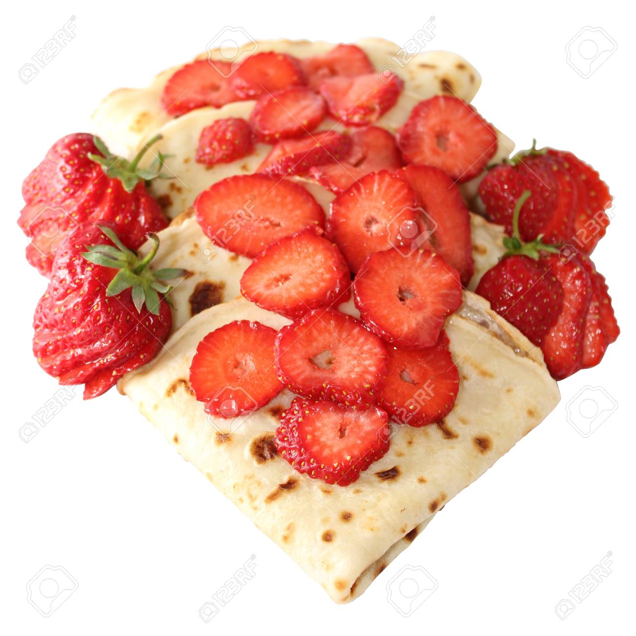 Ein Pfannkuchen Ist Ein Flacher Kuchen Oft Dunn Und Rund Aus Einem