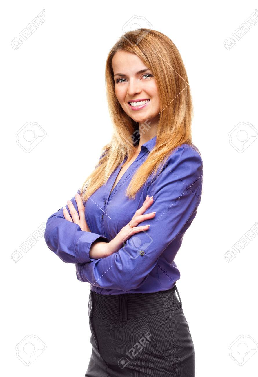 confident successful business w student standing and smiling confident successful business w student standing and smiling in studio stock photo 29218490