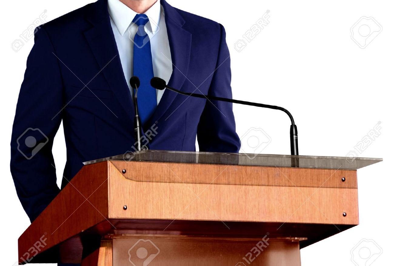 Man Giving Speech - 29688894