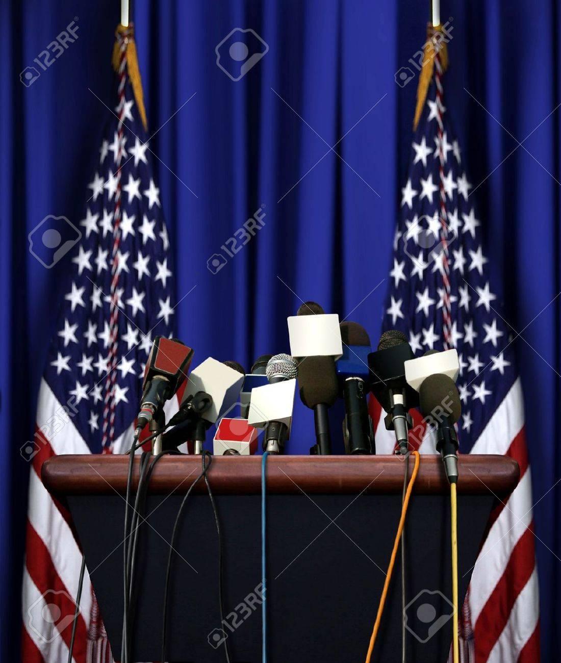 President Speech Podium - 30830537
