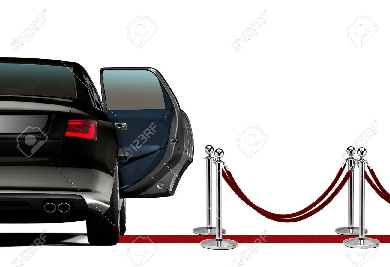 Limousine on Red Carpet Arrival - 33882872