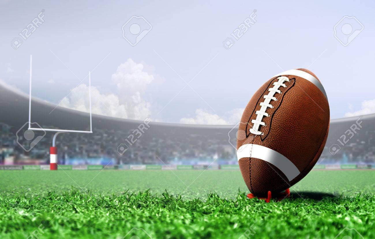 American football penalty kick - 85862760