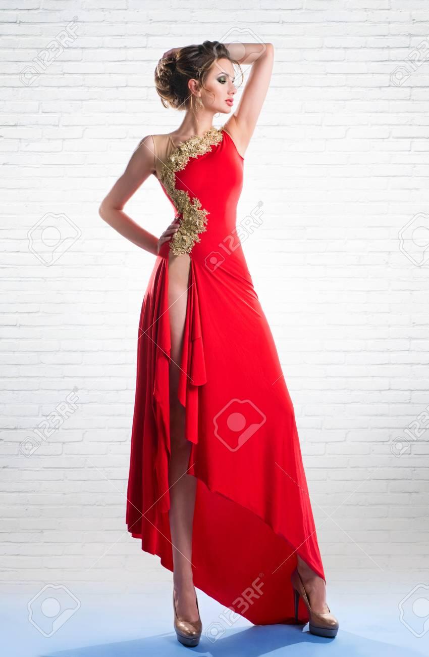 Beautiful Long Red Dresses