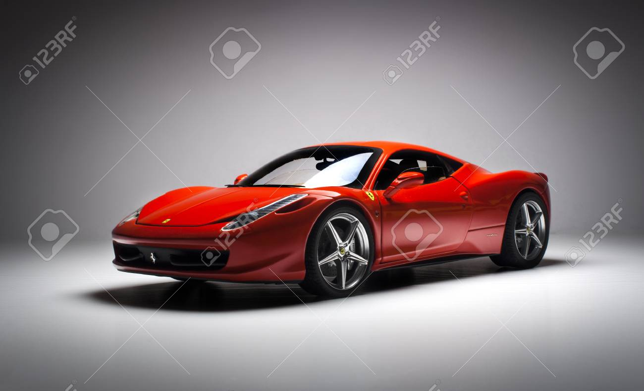 Ferrari 458 Italia Diecast Model Stock Photo Picture And Royalty Free Image Image 77805160