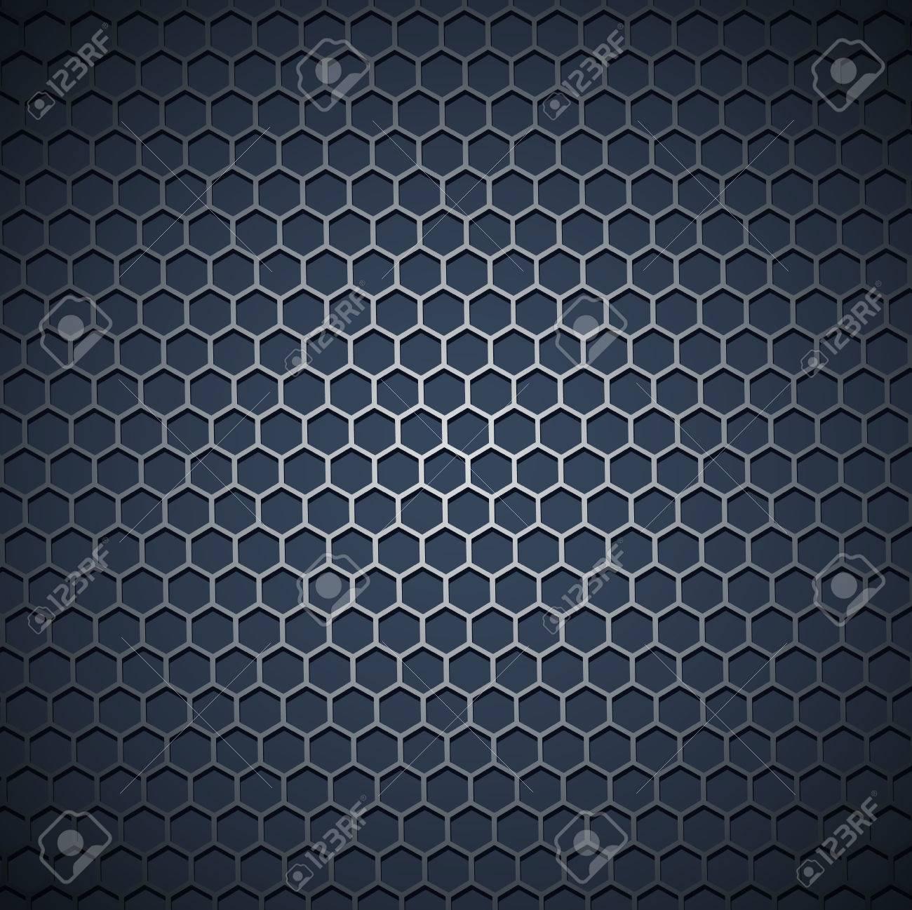 metal grid industrial background - 8928593