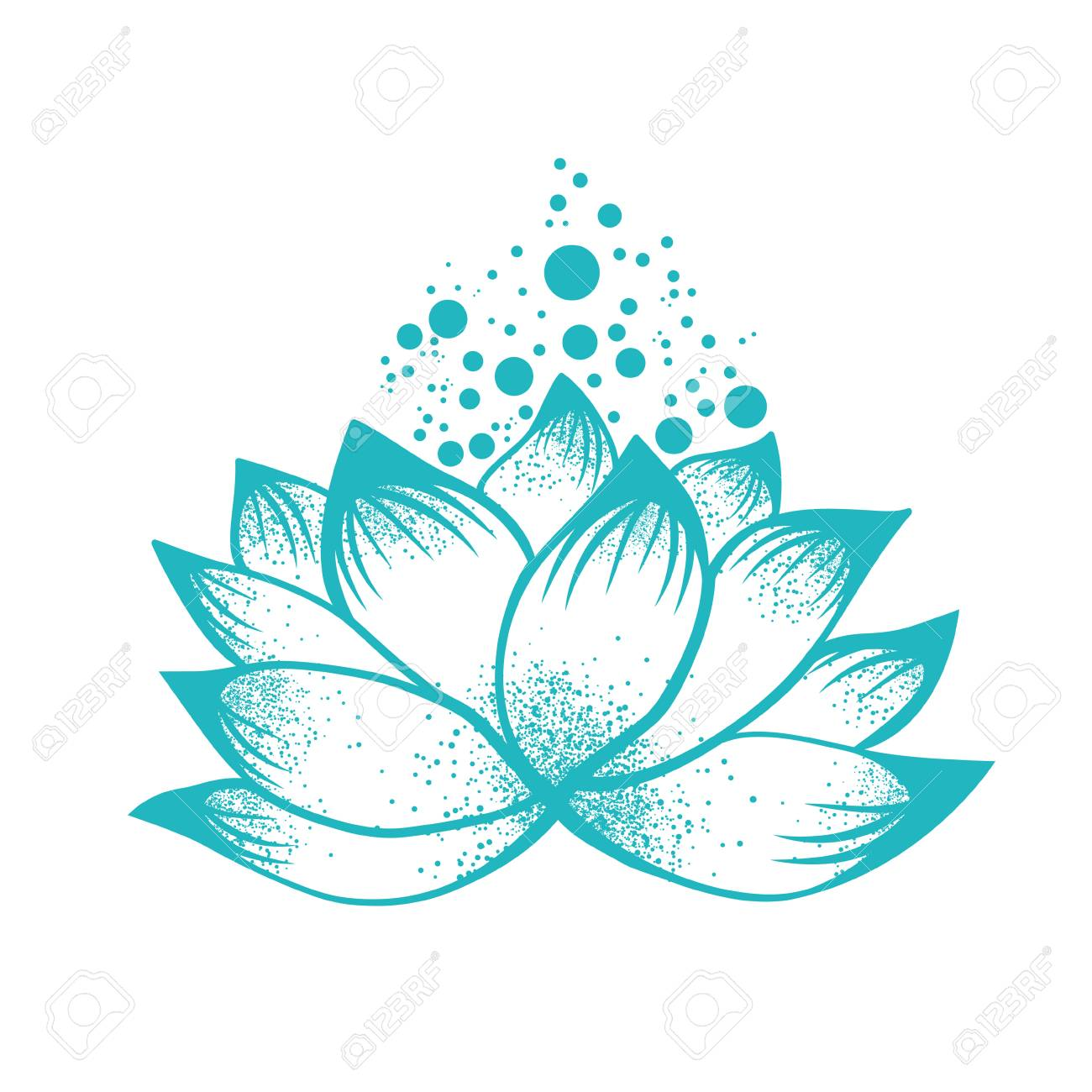 Illustration of abstract design of lilly lotus flower royalty free illustration of abstract design of lilly lotus flower stock vector 76737501 mightylinksfo