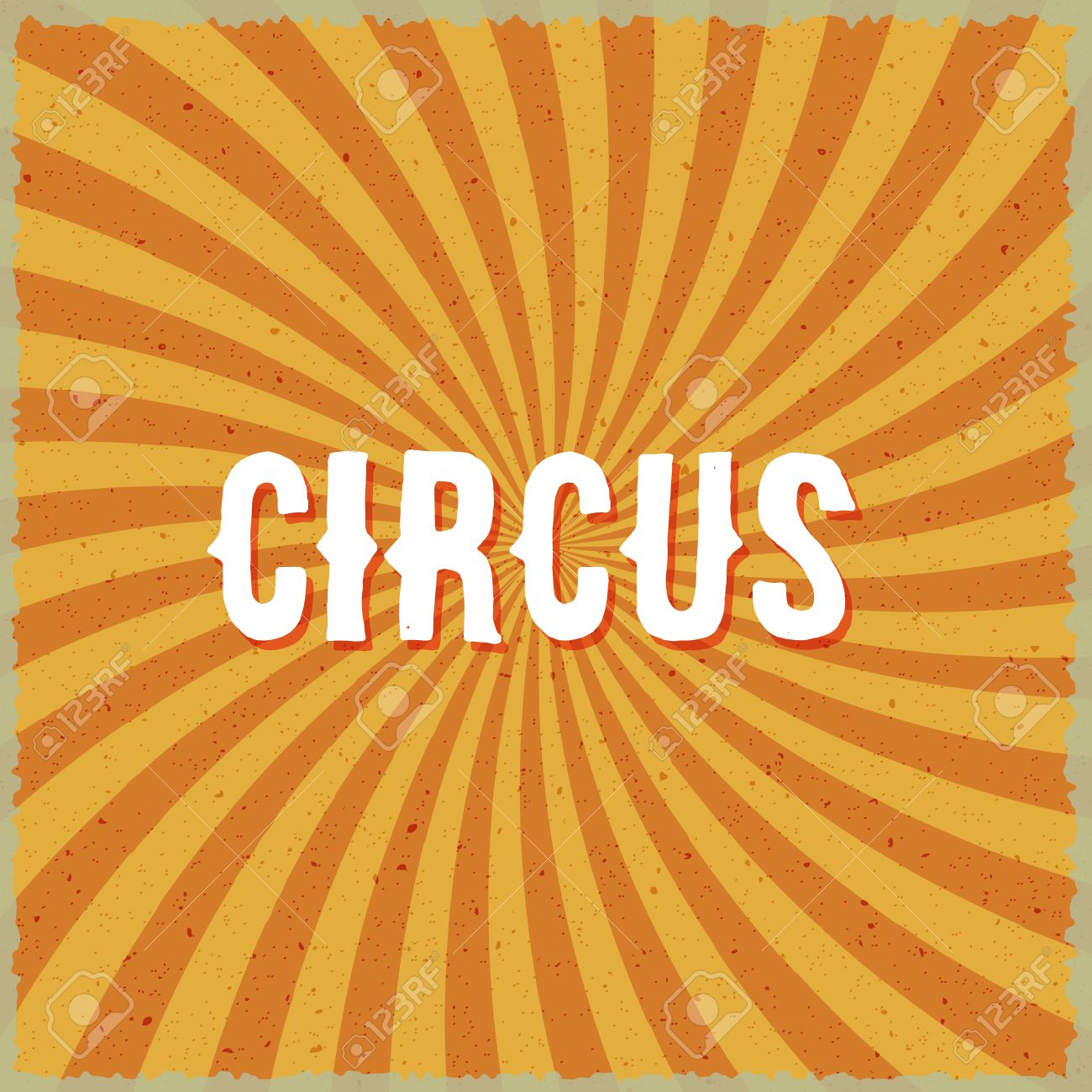 Illustration Of Circus Vintage Swirl Sunburst Lines Background Could Be Used As Poster