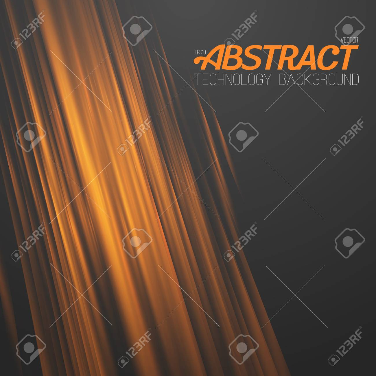 Illustration Of Abstract Fire. Motion Graphics Fire Flow Template ...