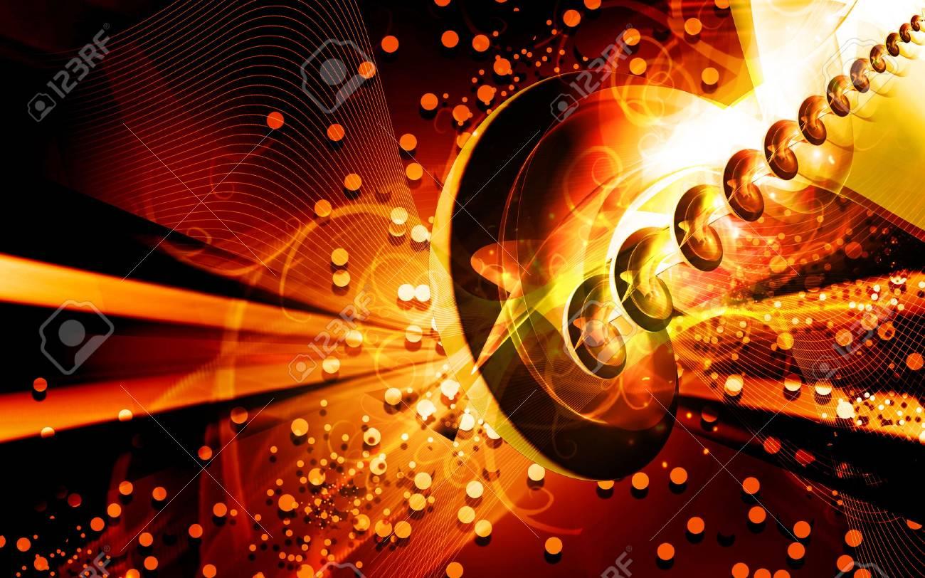 Digital illustration of color in digital background Stock Photo - 6657375