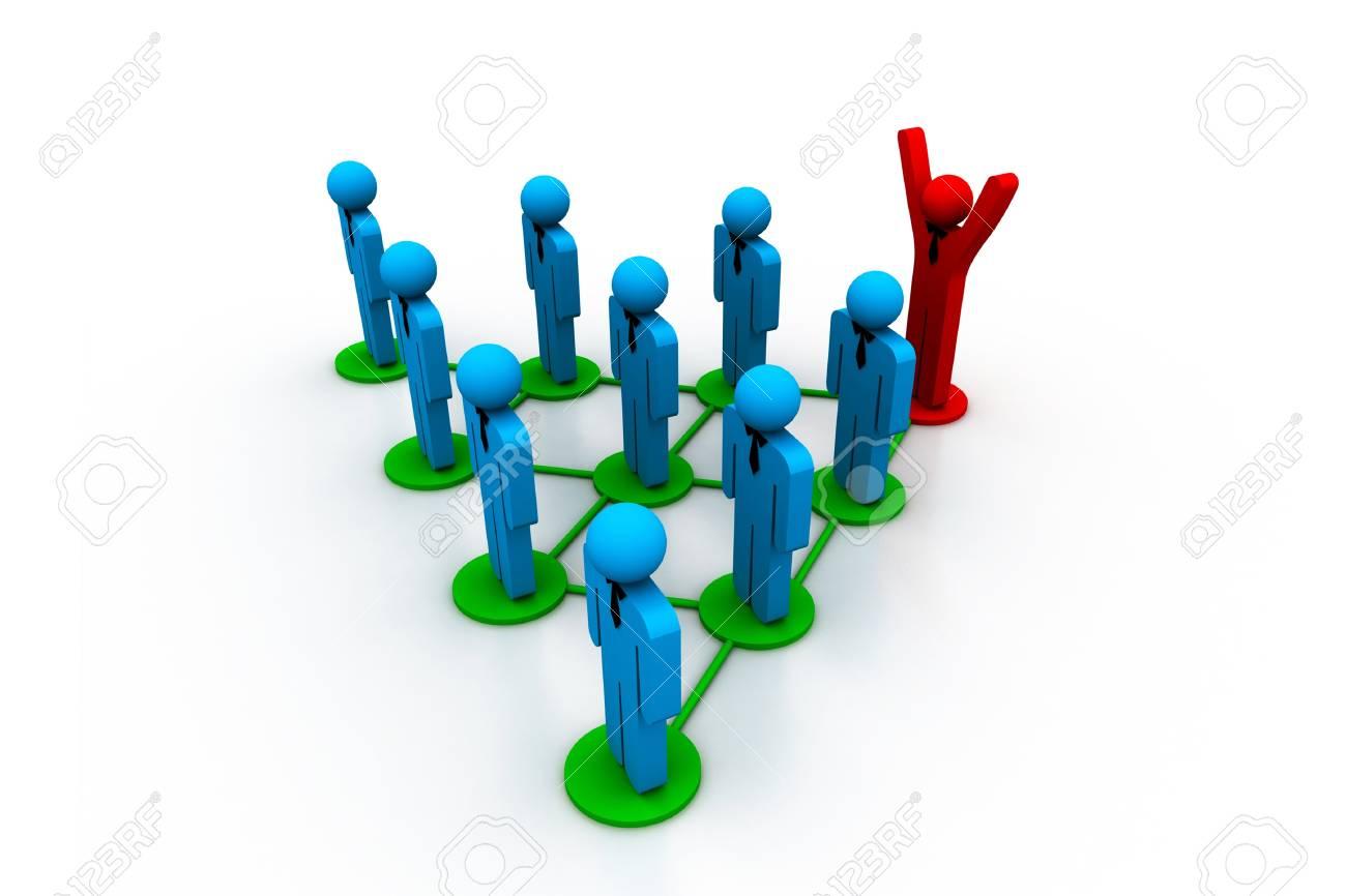 Social network concept Stock Photo - 8067547