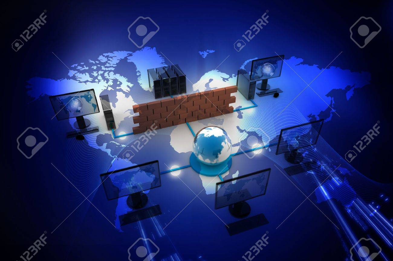 Global Computer network in digital design Stock Photo - 8068064