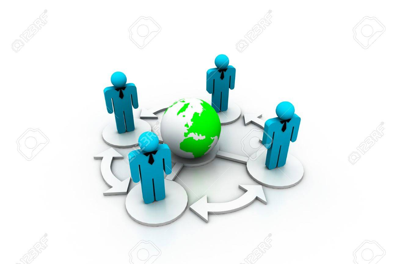 Social network Stock Photo - 8067760