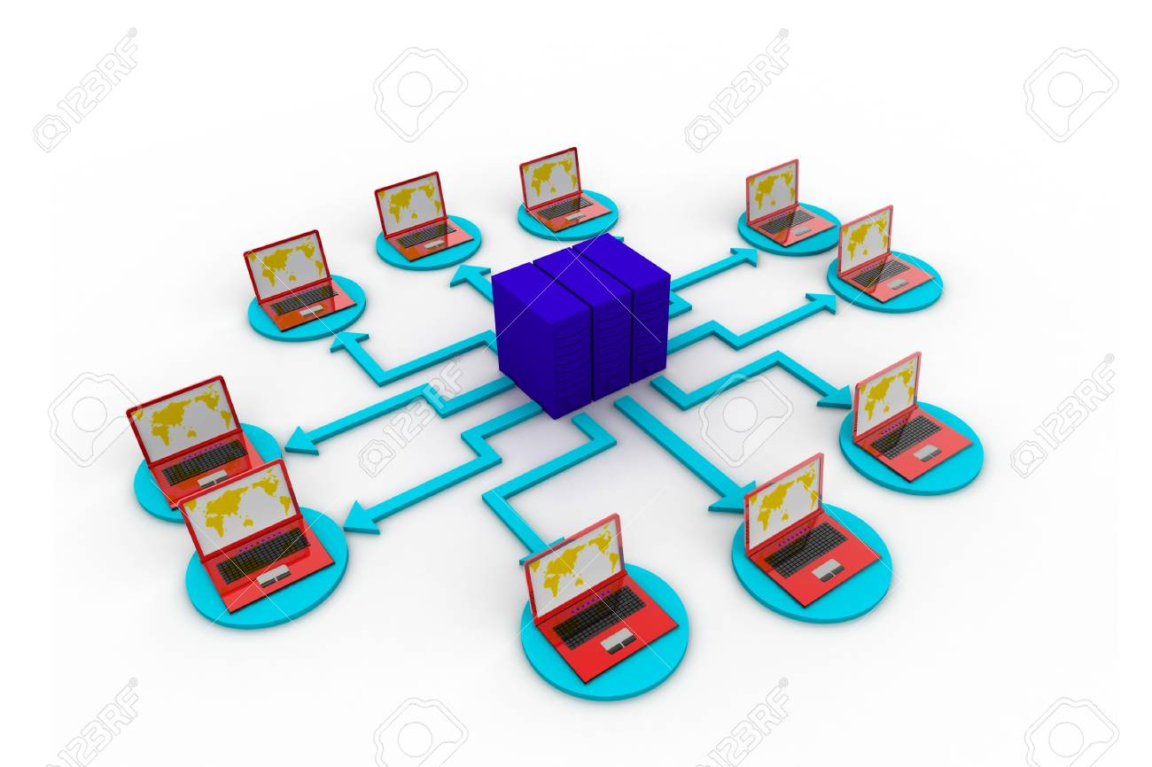 Computer network Stock Photo - 8067638