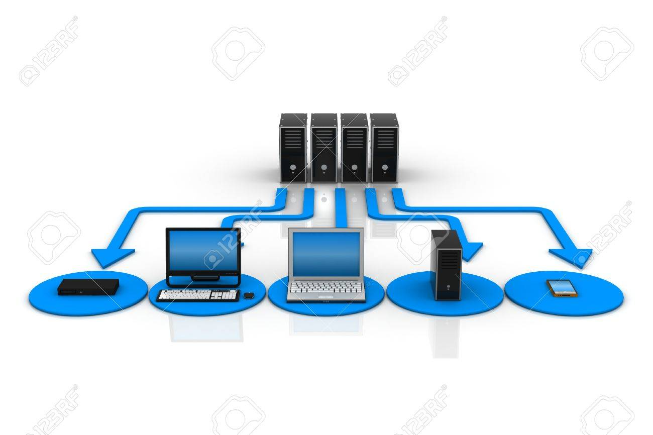 Computer Network Stock Photo - 9254140