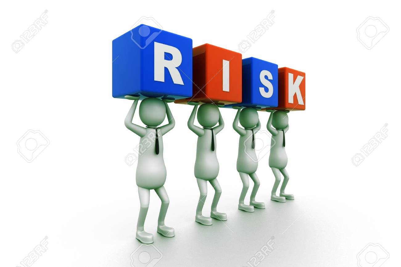 Risk Blocks Stock Photo - 9254368