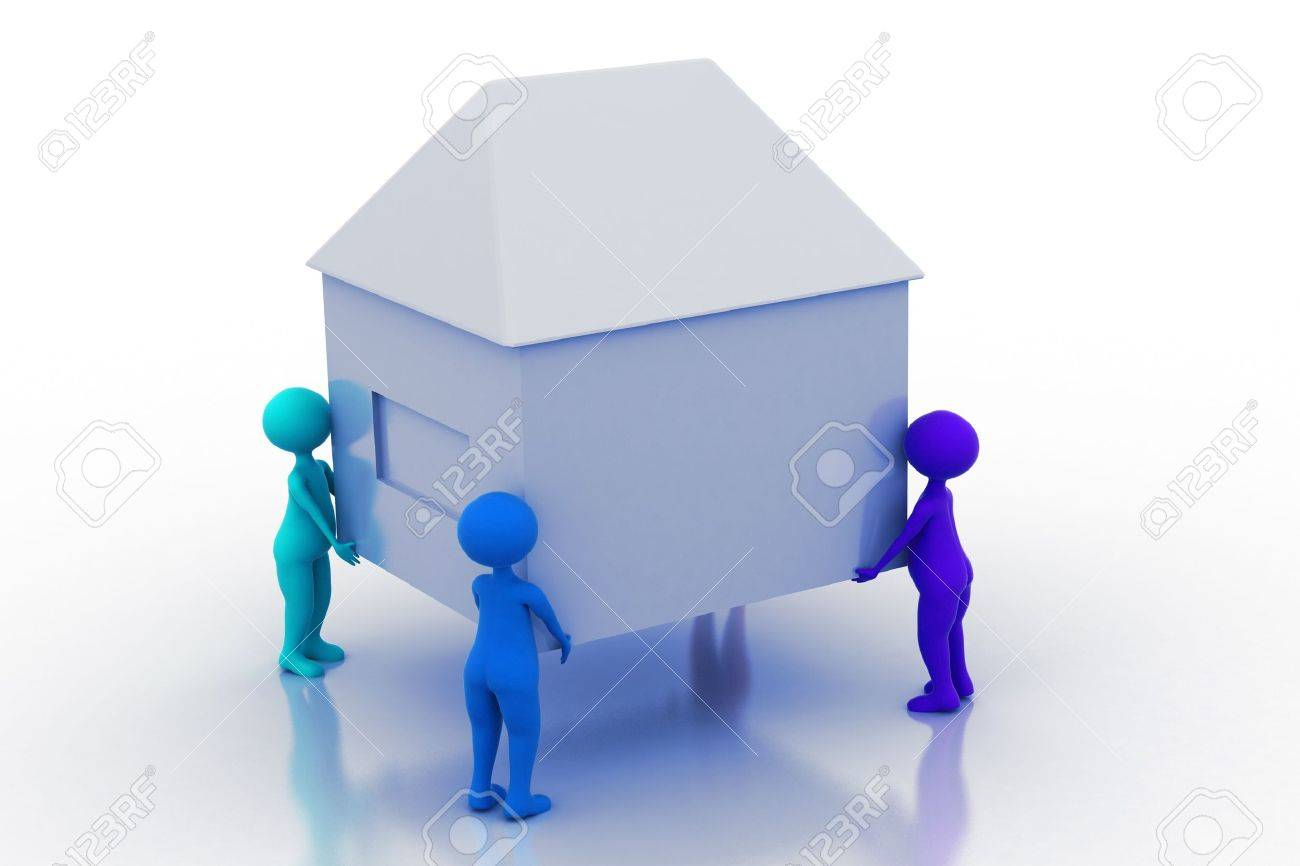 Home Movers Stock Photo - 9547345