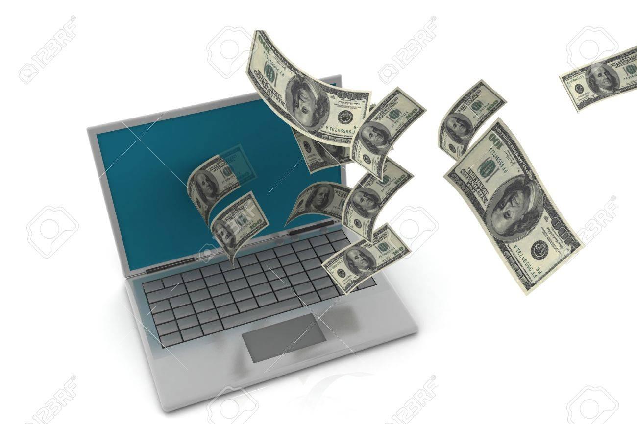 Internet Money Stock Photo - 9776087