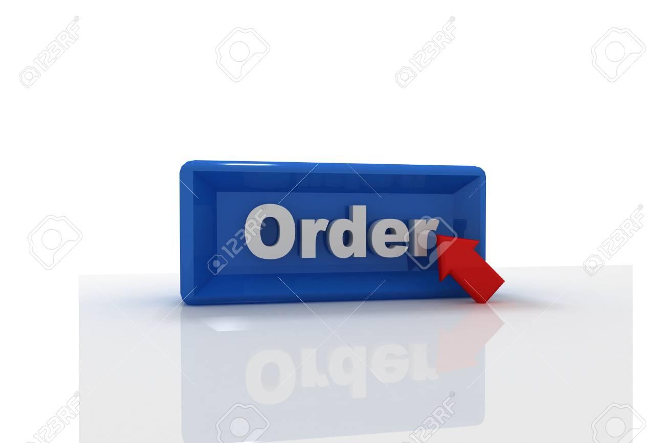 Order button Stock Photo - 9775733