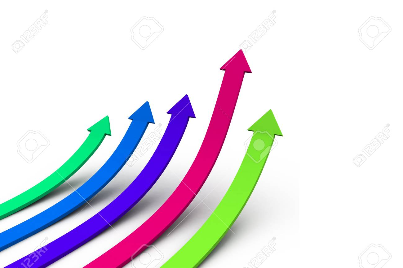 Business Graph Stock Photo - 10313054