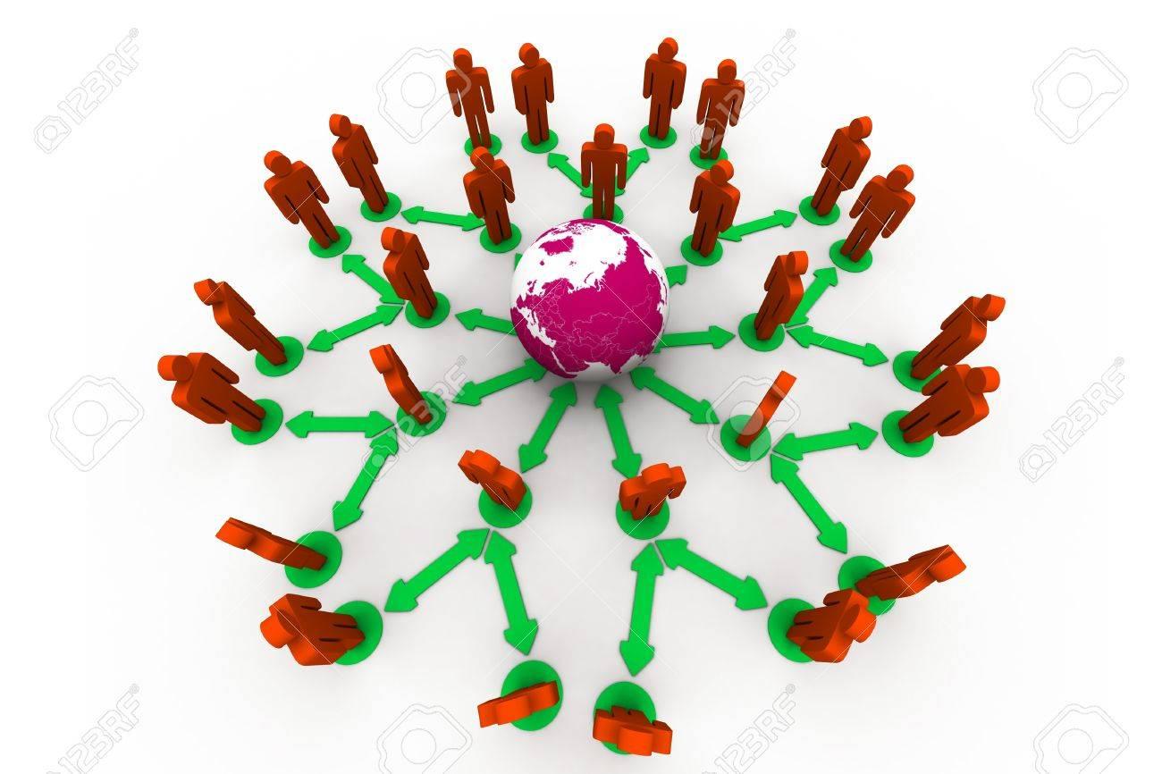 Global Network Stock Photo - 10313065