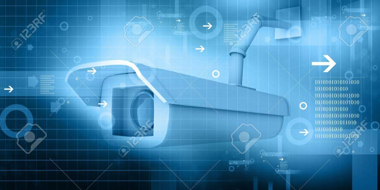 security camera Stock Photo - 10562835