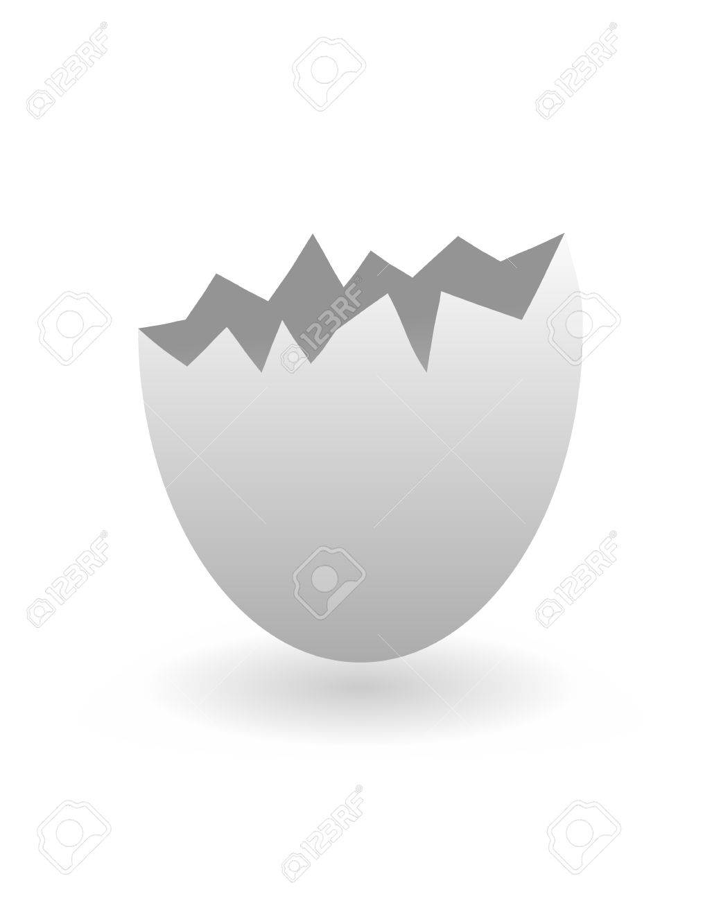 Egg shell Stock Vector - 3971720