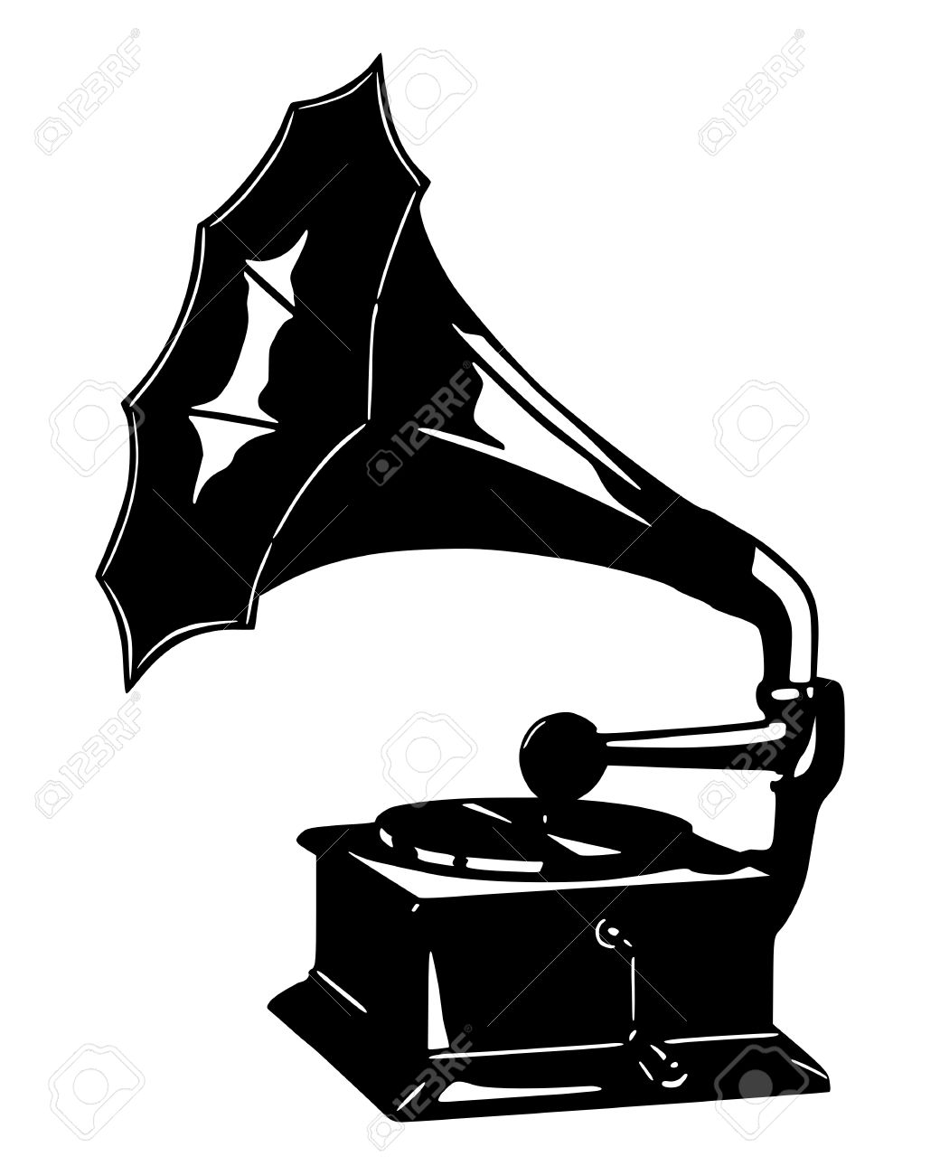 gramophone royalty free cliparts vectors and stock illustration image 7824567 gramophone
