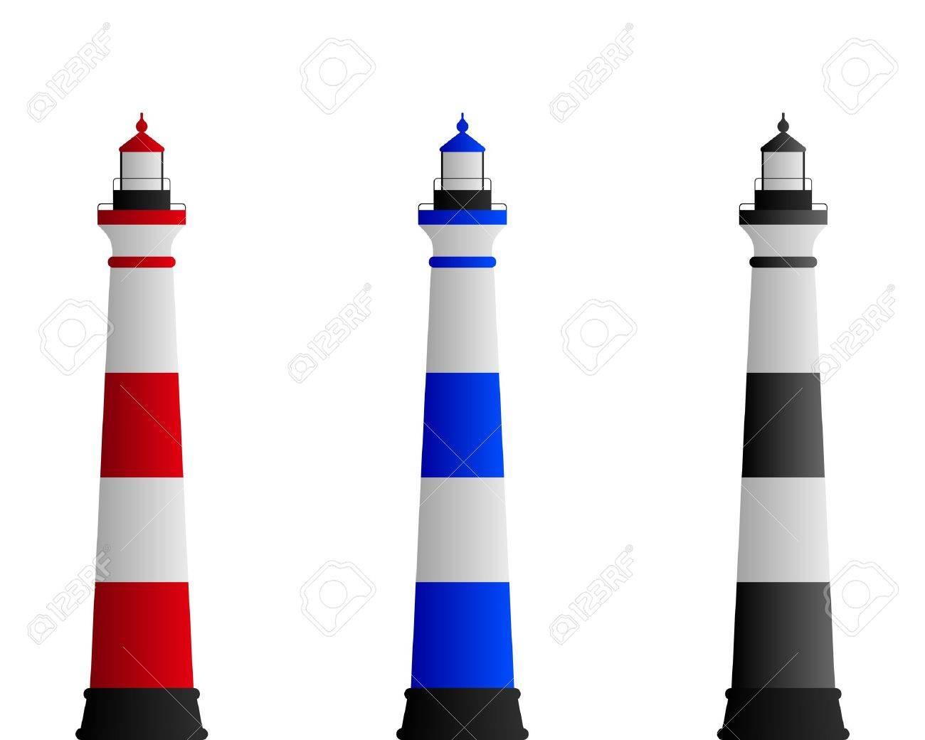 Lighthouse Stock Vector - 7824570