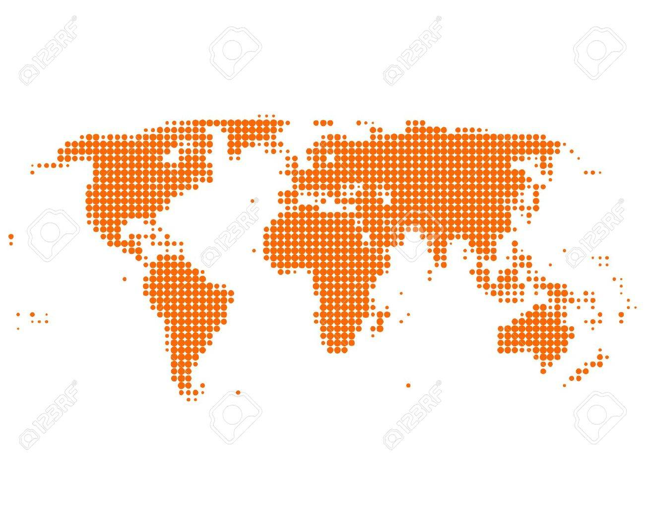 World map - 9073256