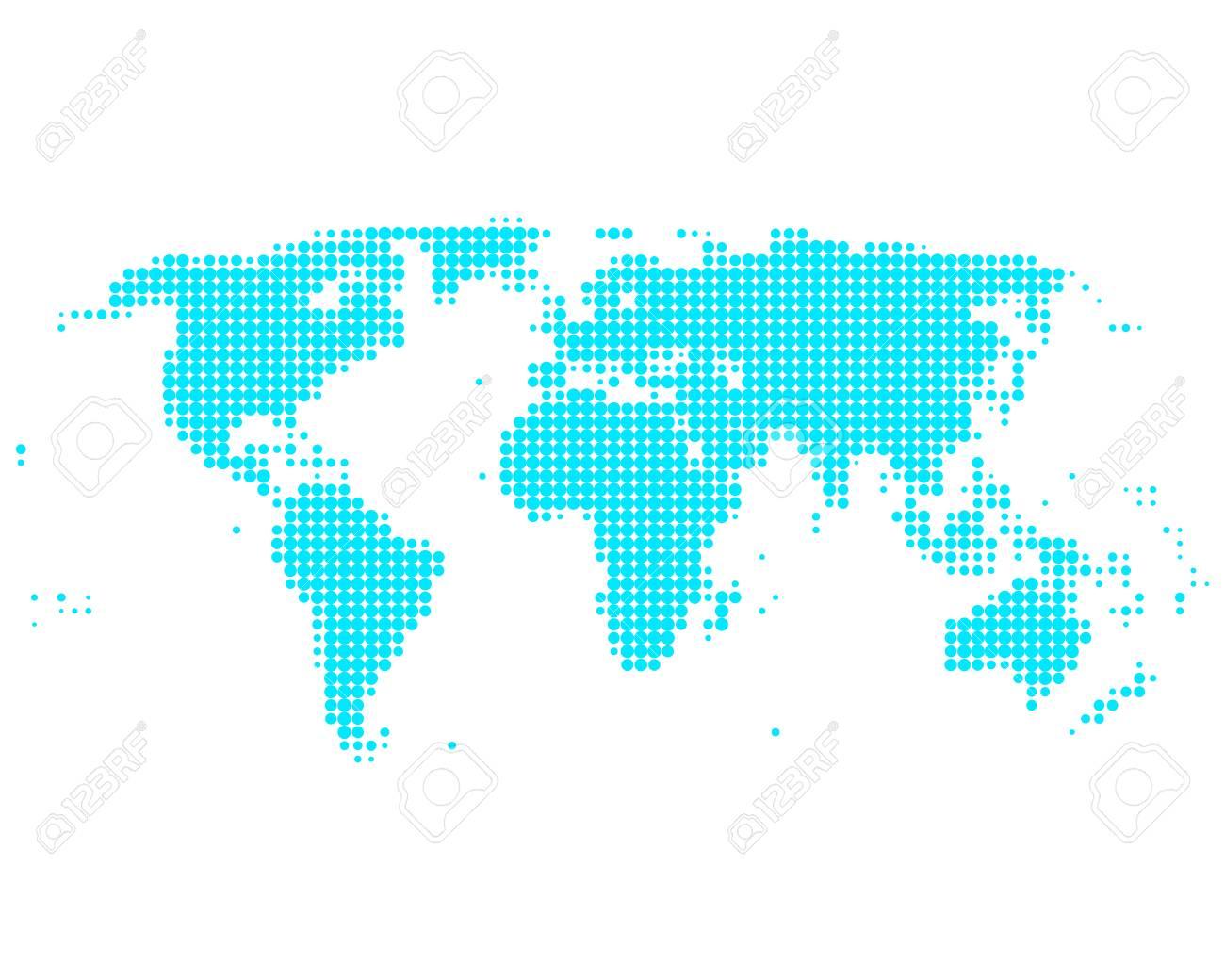 World map Stock Vector - 9145391