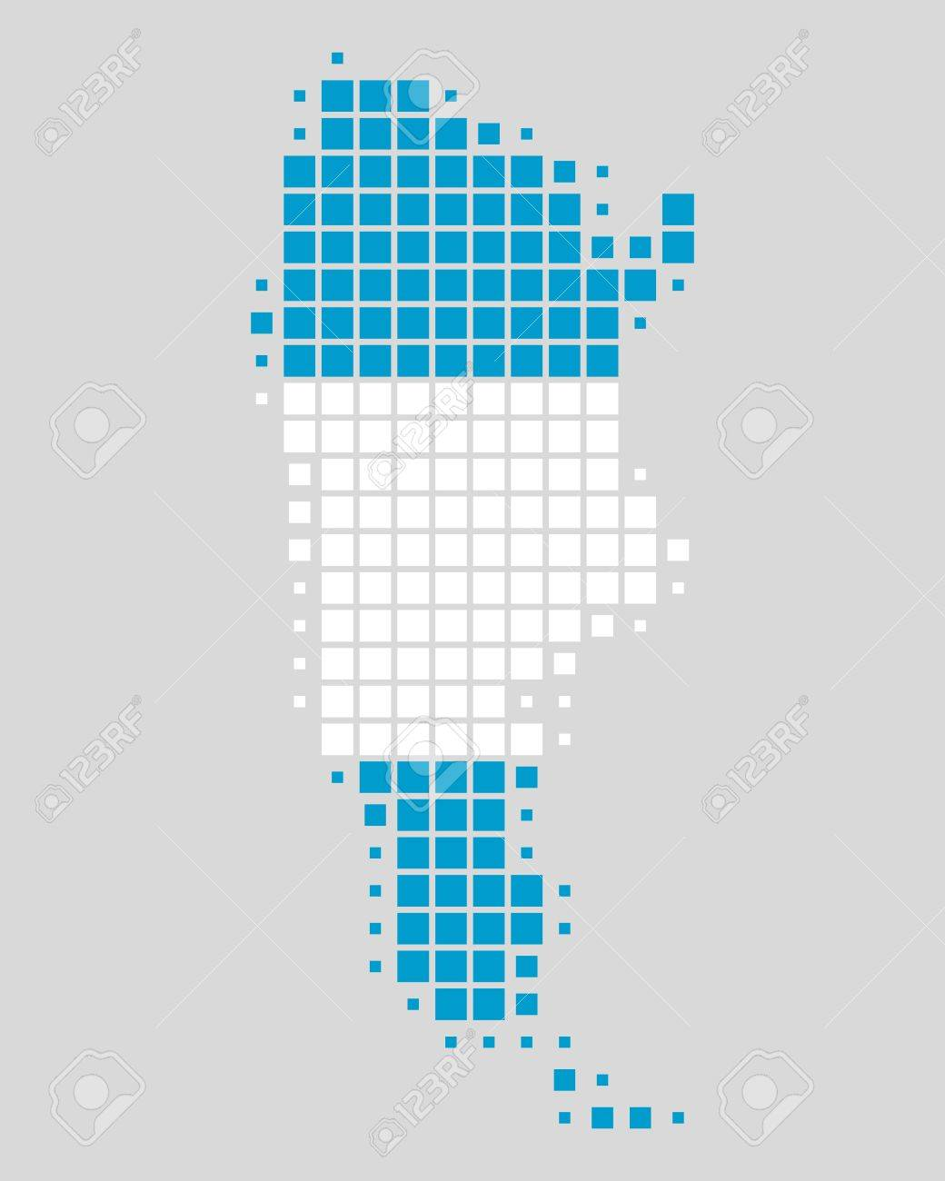 Map And Flag Of Argentina Royalty Free Cliparts Vectors And - Argentina map vector