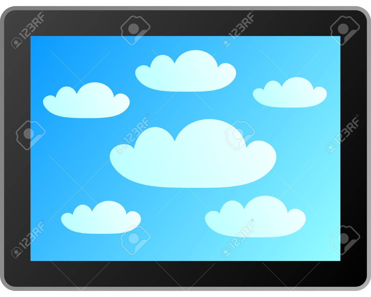 Cloud computing Stock Vector - 11559601