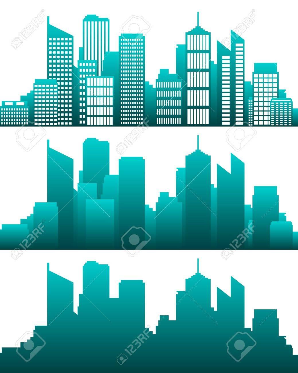 City skyline - 12932854