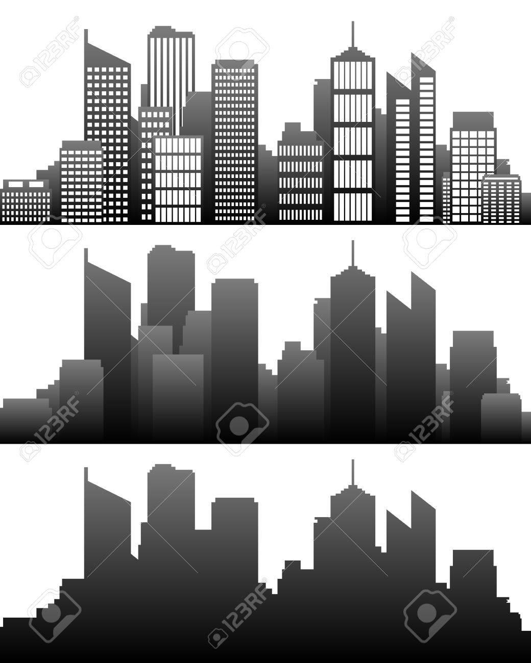 City skyline - 13108646