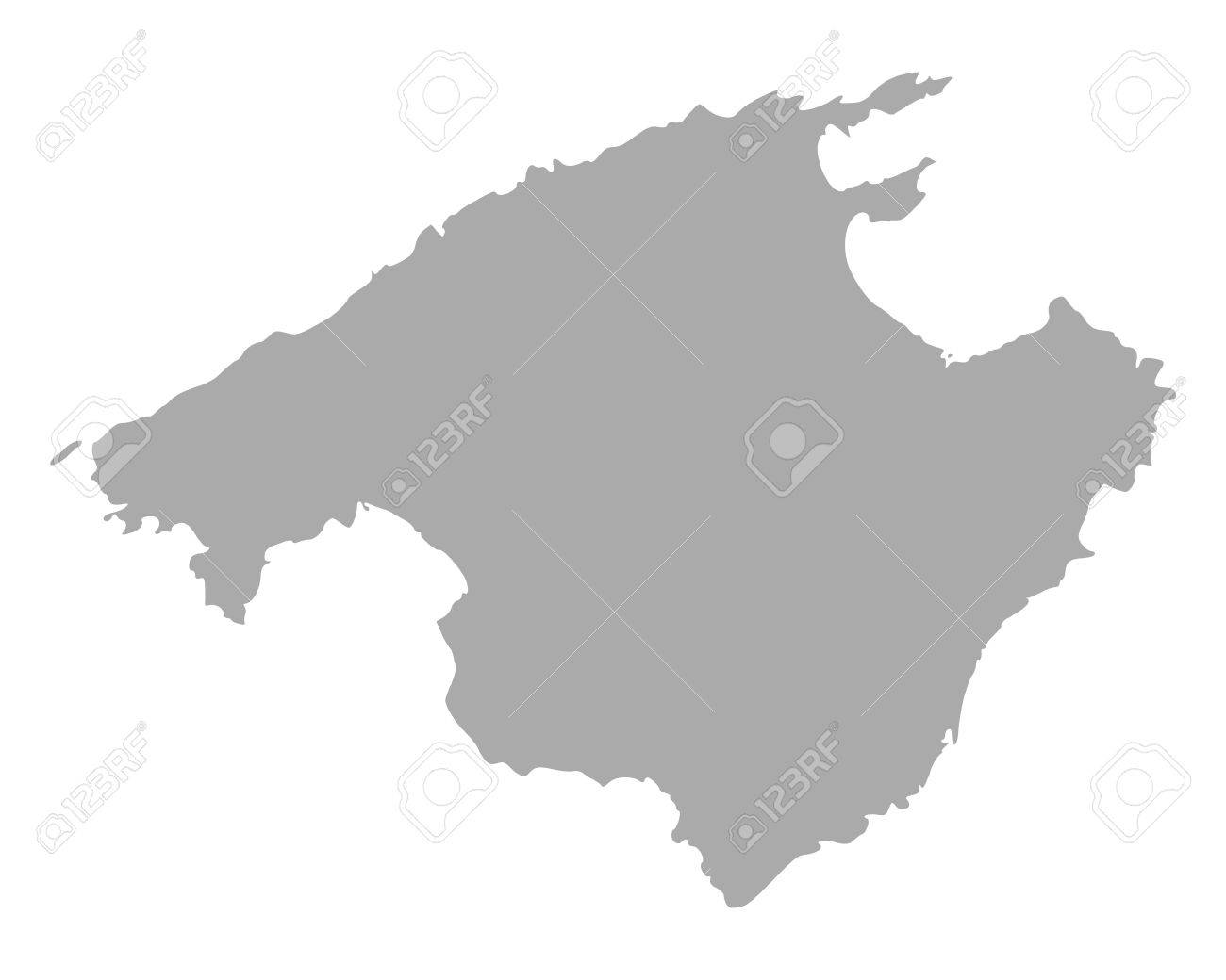 Map of Mallorca - 14274307