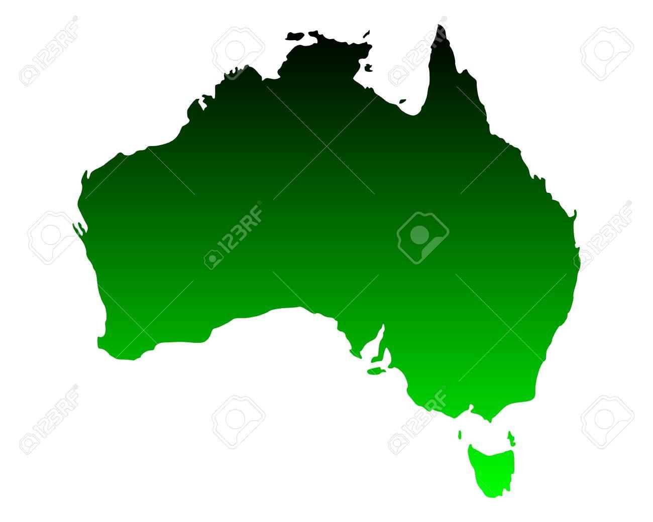 Map of Australia - 15862243