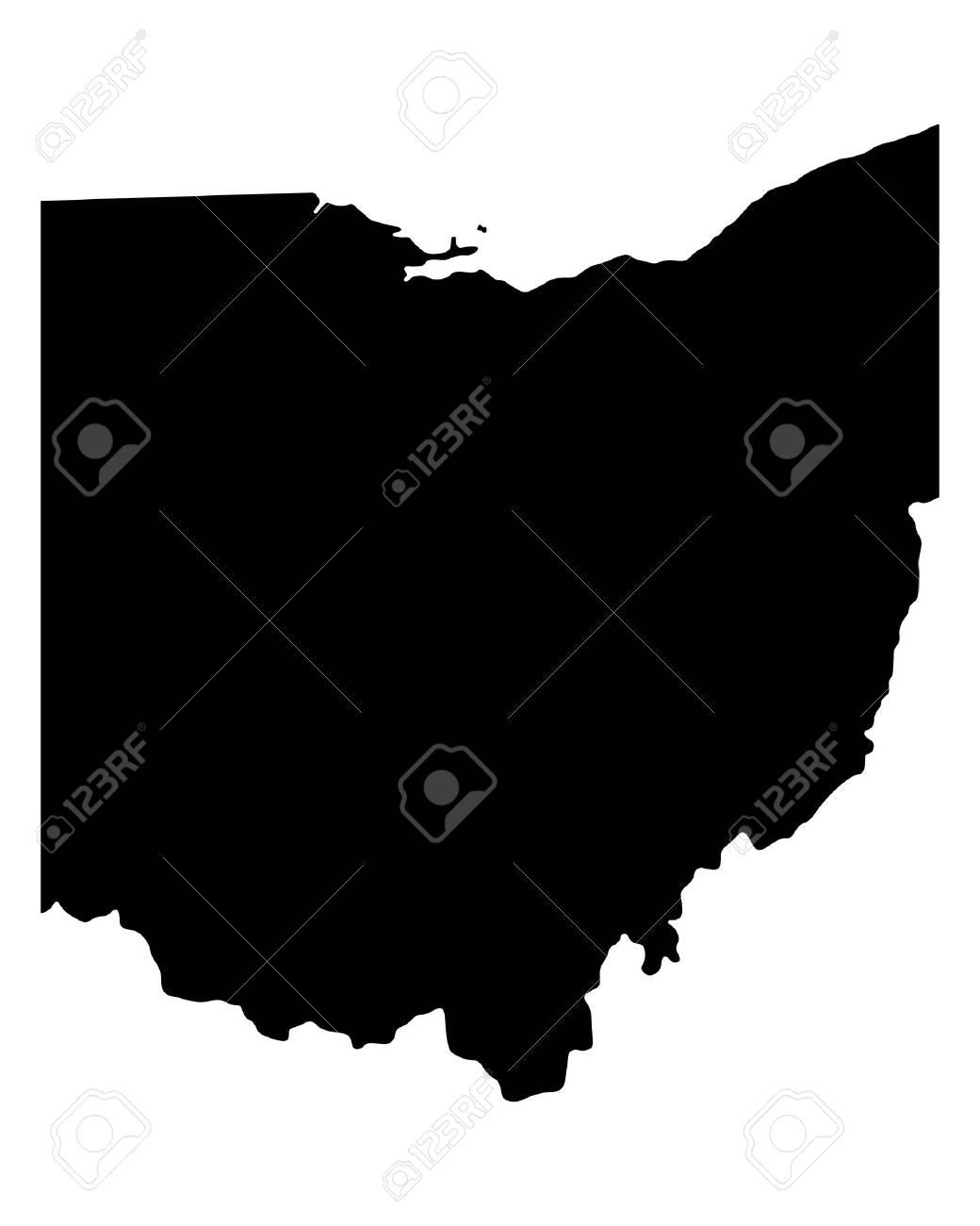 Map of Ohio - 21772418