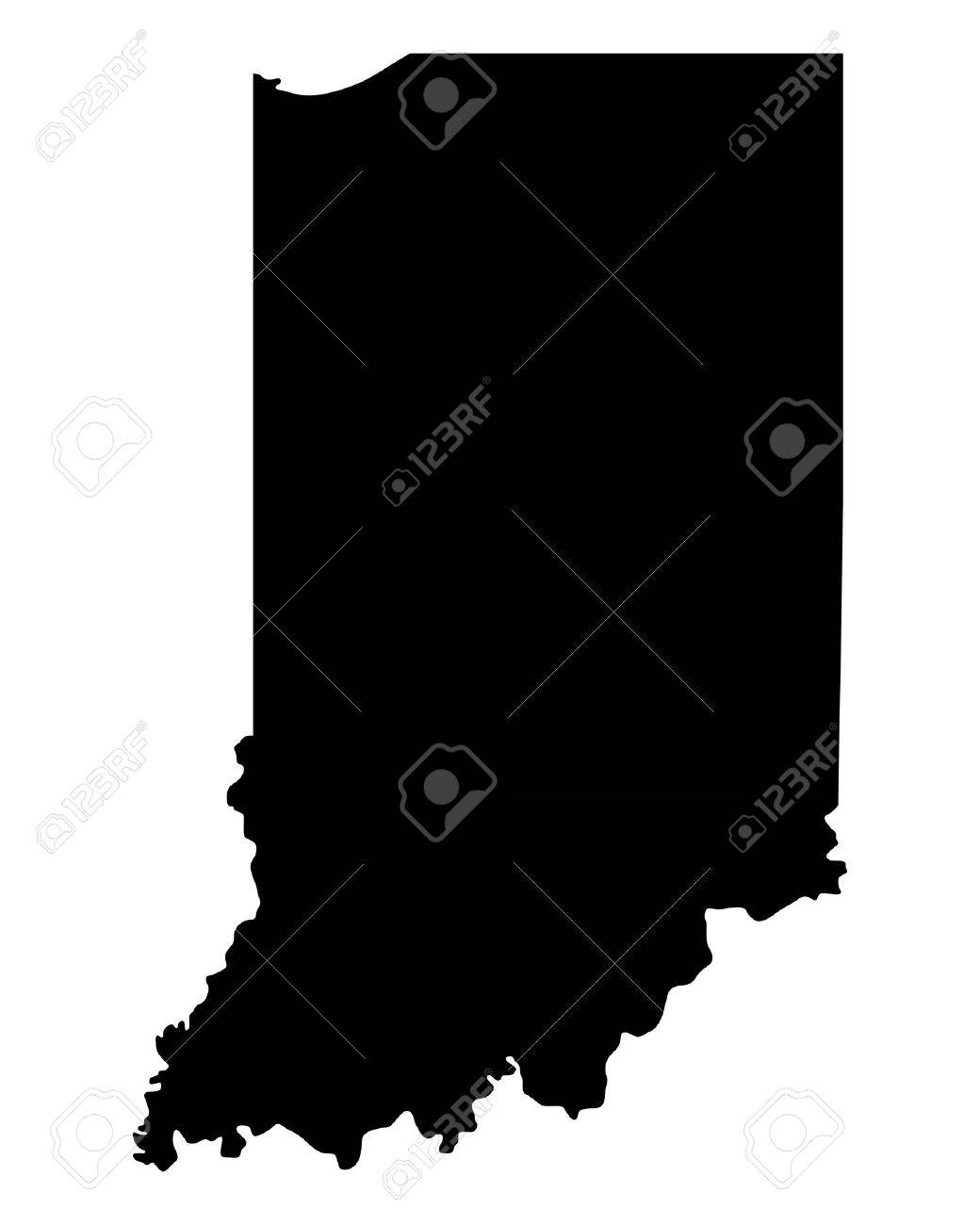 Map of Indiana - 23121253
