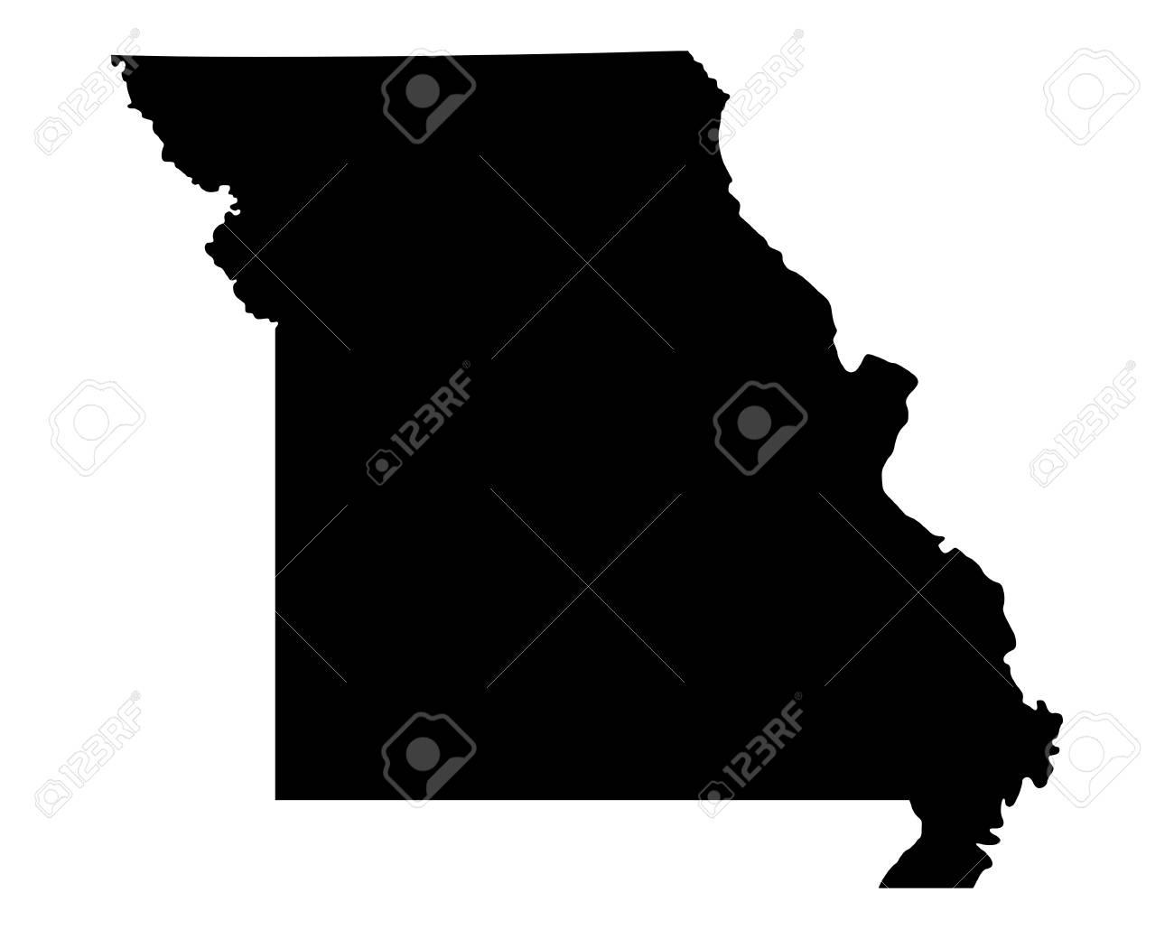 Map of Missouri - 24193862