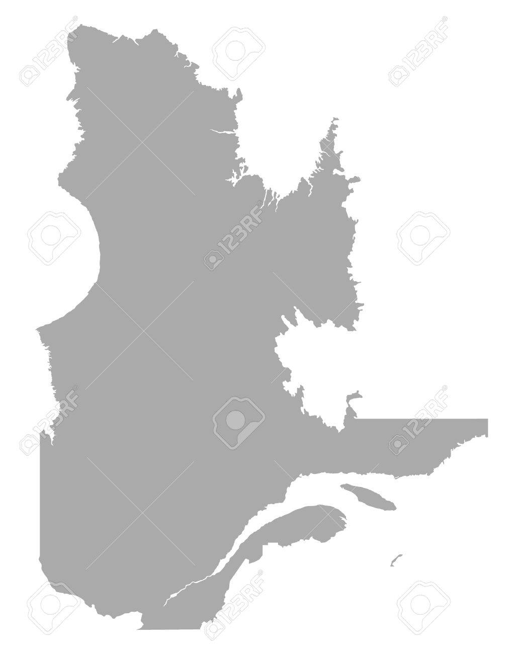 Map of Quebec - 29286842