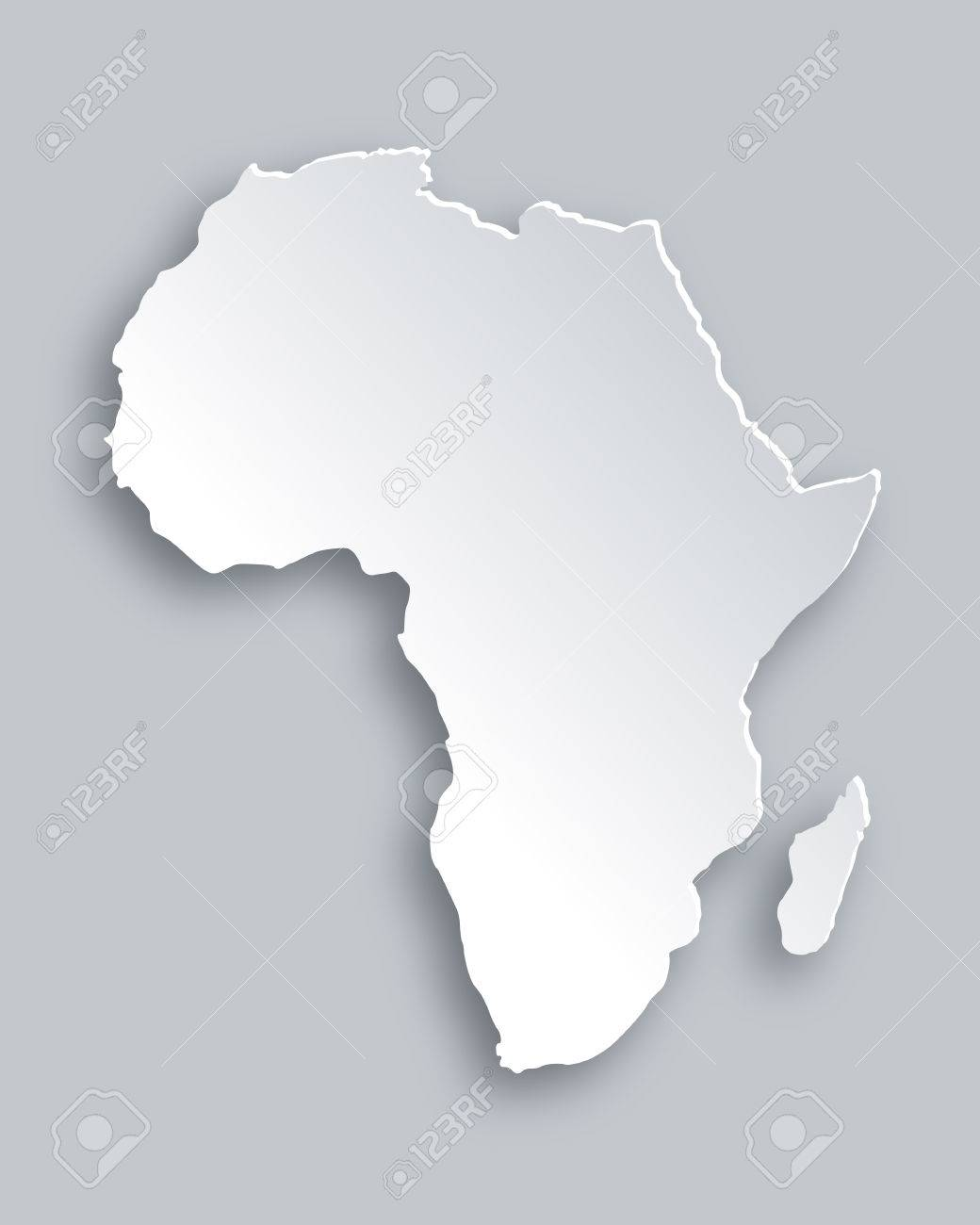 Map of Africa - 32622262