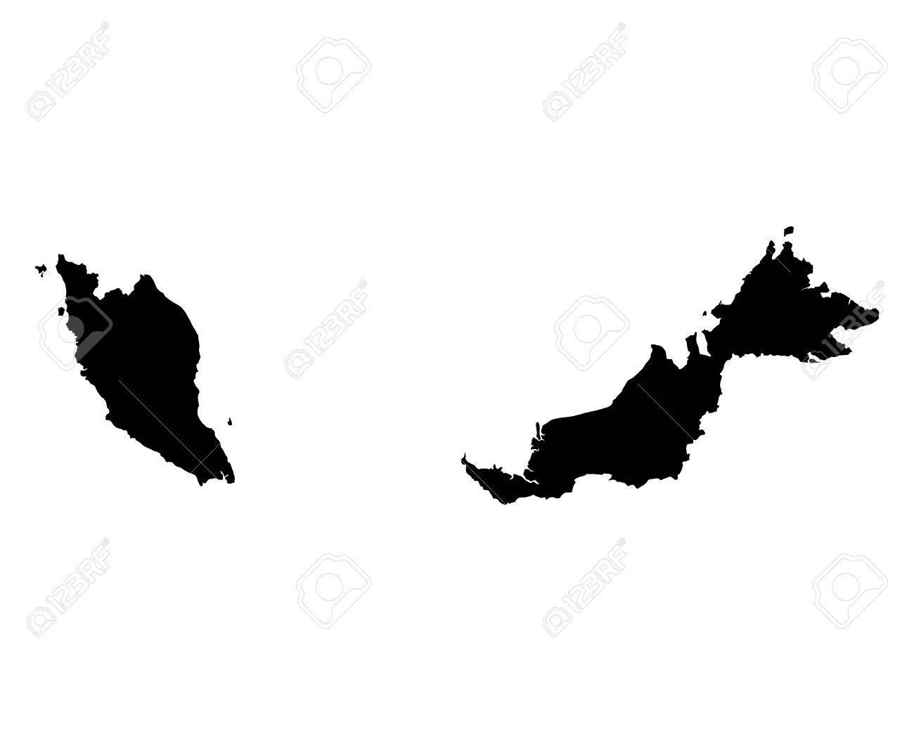 Map of Malaysia - 37262164