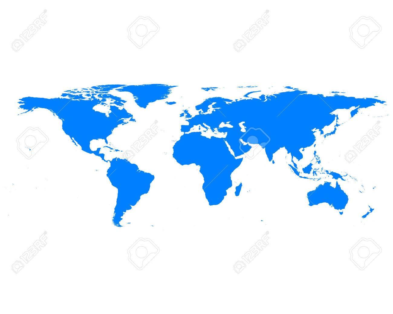 World map - 39929989