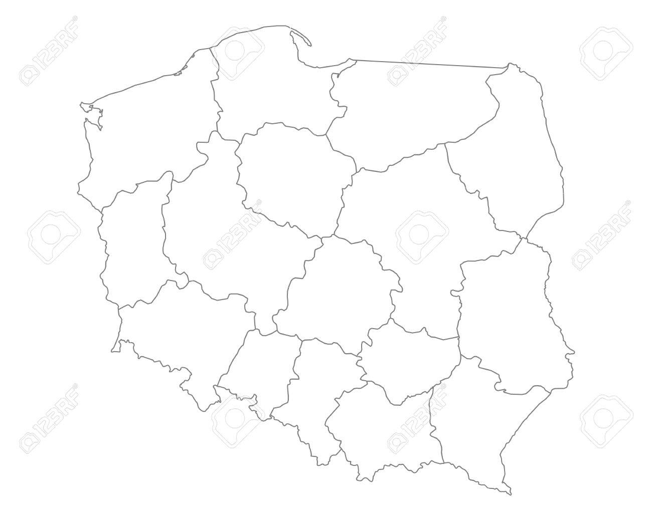 Map of Poland - 41615620