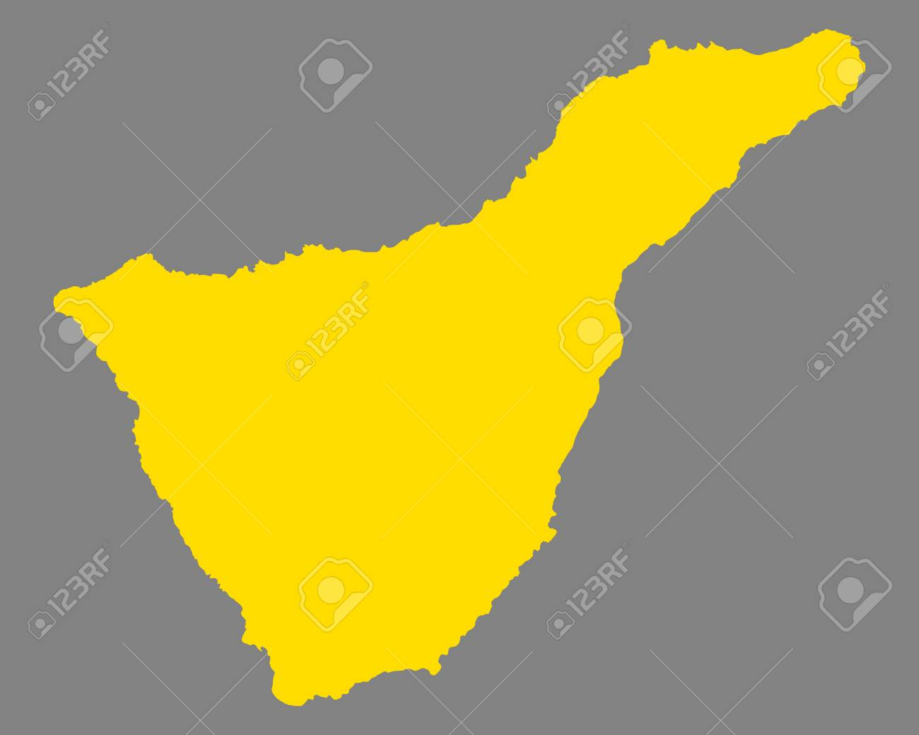 Map Of Tenerife Royalty Free Cliparts, Vectors, And Stock ...