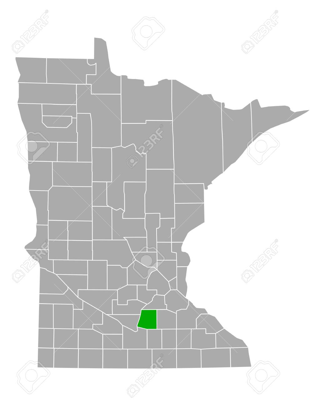 Map of Le Sueur in Minnesota - 150583998