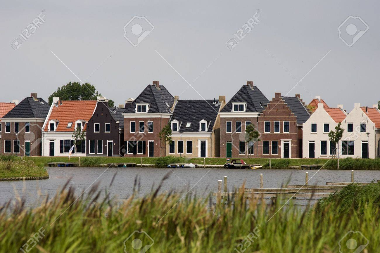 Old Dutch Houses Stock Photo Picture And Royalty Free Image Image